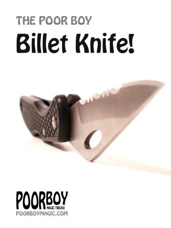 Poor Boy Billet Knife