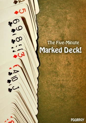 Poor Boy Five-Minute Marked Deck (DISCONTINUED)