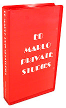 Ed Marlo Private Studies