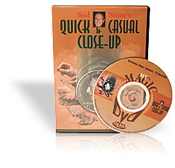 QUICK & CASUAL CLOSE-UP DVD Stone
