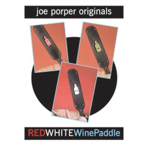 Red White Wine Paddle