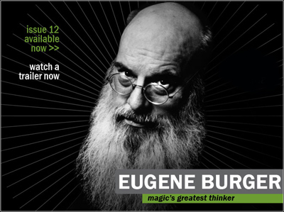 Reel Magic Magazine DVD #12 Eugene Burger