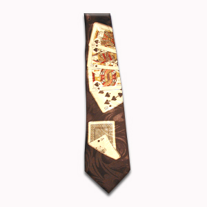 Royal Flush Tie (Polyester)