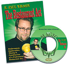 Restaurant Act DVD by Paul Wilson