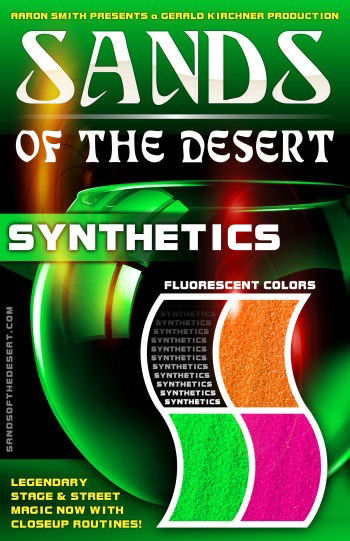 Sands of the Desert SYNTHETICS (Fluorescent Sands)