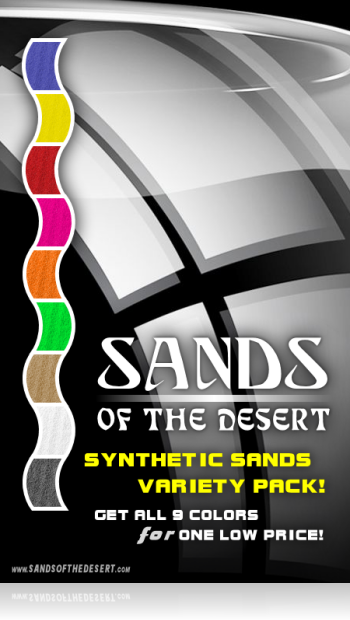 Sands of the Desert VARIETY Pack (Synthetics)