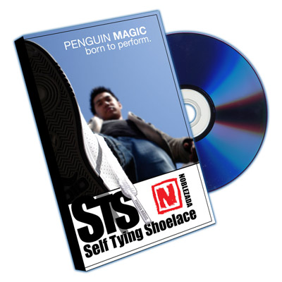 Self Tying Shoelace by Jay Noblezada with DVD!