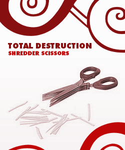 Total Destruction Shredder Scissors
