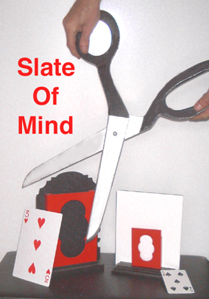 Slate Of Mind by Jay Leslie Poker Size