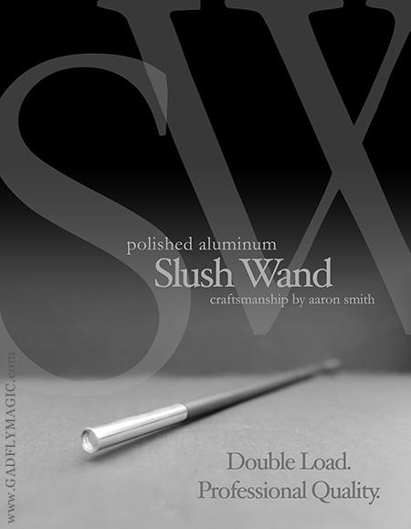 Slush Wand (Polished Aluminum)