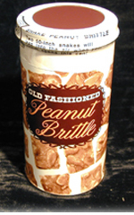 Snake Peanut Brittle Can