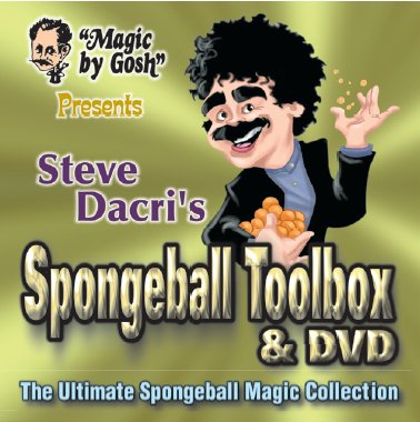 Spongeball Toolbox w/DVD by Gosh