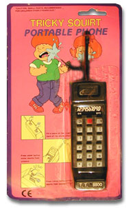 Squirt Portable Phone