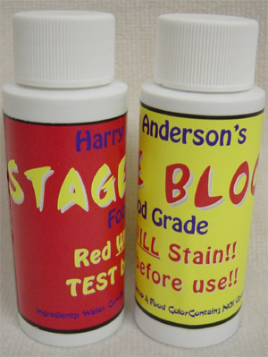 Stage Blood by Harry Anderson