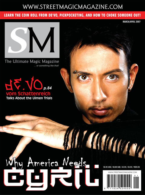 Street Magic Magazine March/April 2007
