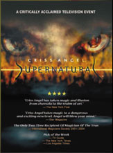 Supernatural DVD by Criss Angel