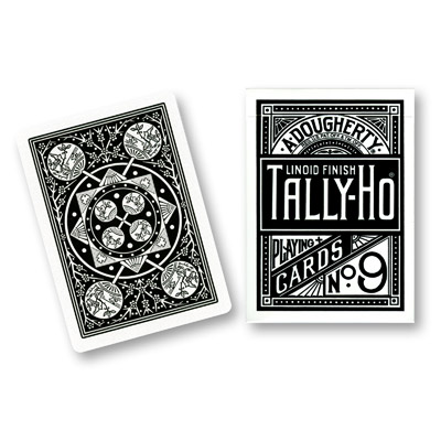 Tally-Ho Black Fan Back