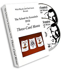 Three Card Monte DVD by Whit Haydn