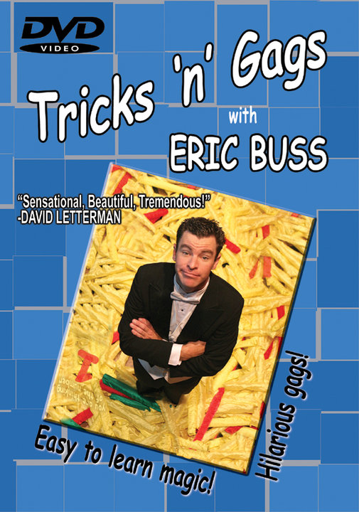 Tricks 'n' Gags DVD by Eric Buss