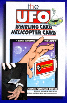 UFO Whirling Card DVD