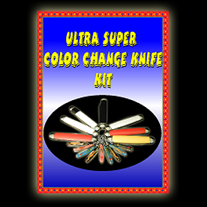 Ultra Super Color Change Knife Kit