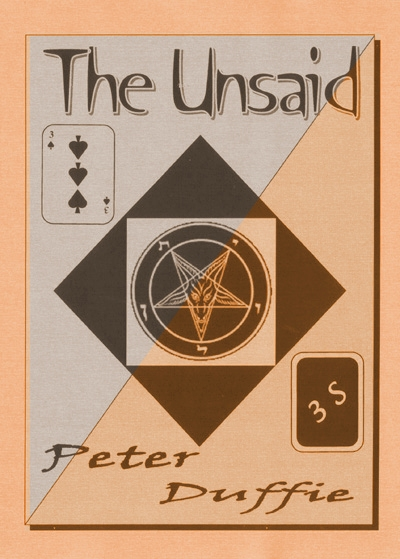 The Unsaid by Peter Duffie