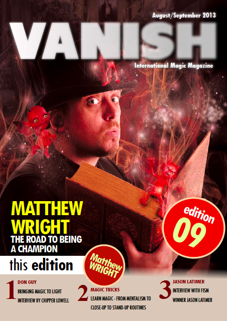 Vanish Magazine Issue 09 FREE!