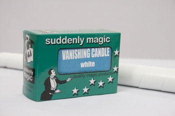 Vanishing Candle-WHITE