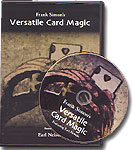 Versatile Card Magic by Frank Simon (DVD)