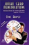 Jumbo Card Manipulations DVD by Cyril Harvey