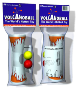 Volcanoball Juggling Ball & Tube (Discontinued)