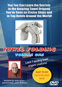 Towel Folding: Volume 1 DVD