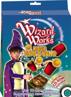 Wizard Works CD Rom (Cups & Balls)