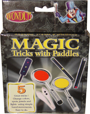 Wonder Magic Set: Paddle Tricks