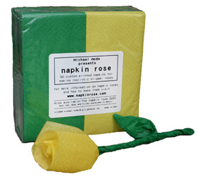 Napkin Rose Refills (Yellow)-pack of 3