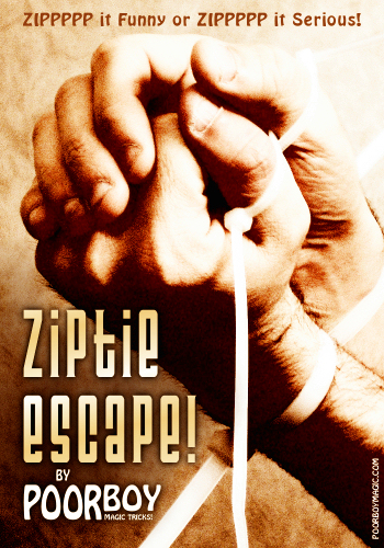 Poor Boy Zip Tie Escape by Aaron Smith