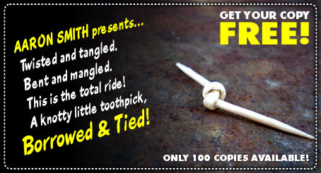 Borrowed & Tied FREE with orders over $50!