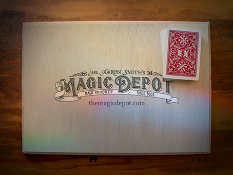 Fusion Pad with The Magic Depot logo